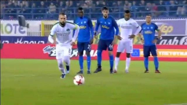 Guillermo Molins Goal (Pen.) - Atromitos 1-1 Panathinaikos 25.11.2017