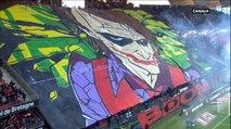 Rennes-Nantes : Magnifique tifo des Ultras du Celtic Kop de Rennes