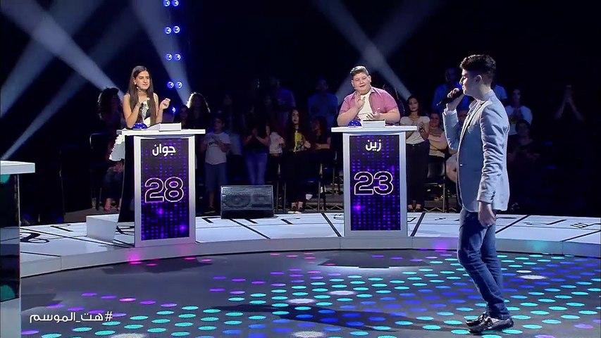 علاء ناصر يغني للمطرب معين شريف