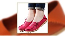 VTOTA Women Genuine Leather Shoes Flats Slip On Shoes Women zapatillas mujer Casual Ballet Flats Womens Moccasins Flat S