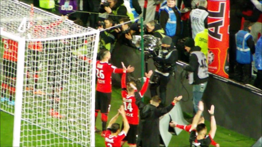 25/11/17 : SRFC-FCN : le clapping