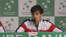 Tennis - Coupe Davis : Herbert «Ne rien lâcher, ne rien lâcher...»