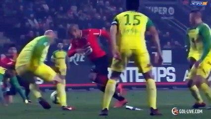 Rennes 2-1 Nantes résumé vidéo buts