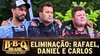Eliminação: Rafael, Daniel e Carlos na berlinda