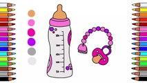 Malbuch für Kinder  Ausmalbilder für Kinder  Malen für Kinder  Bilder für Kinder  Ausmalen  Babyflasche