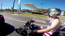 MOTORCYCLE GOES THROUGH AUTOMATIC CAR WASH!-86daNx90xxE