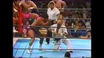 Akitoshi Saito/Kengo Kimura/Masashi Aoyagi/Shiro Koshinaka vs Osamu Kido/Riki Choshu/Takayuki Iizuka/Tatsumi Fujinami (New Japan October 24th, 1992)