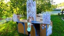Disney Reine des Neiges - 24h00 ds le Chateau en CARTON de Elsa