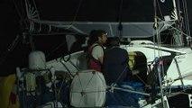 TJV - Arrivée EARENDIL - Catherine Pourre et Benoit Hochard - 26/11/17