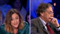 Clash entre la comédienne Camille Chamoux, Yann Moix et Alain Finkielkraut dans ONPC - Regardez