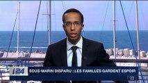 Sous-marin disparu : les familles gardent espoir