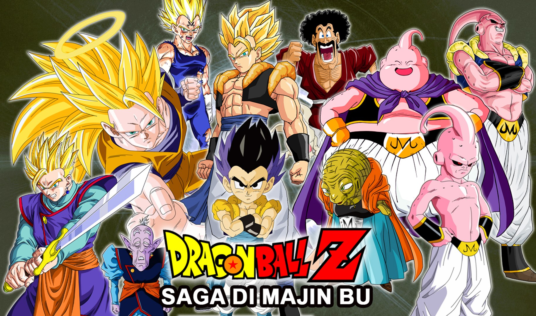Dragonball Z Saga Majin Bu In 15 Minuti Video Dailymotion