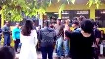 Fernando Anduray casi se va a los golpes con activistas en Tegucigalpa