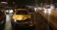 D-100 Bakırköy Mevkiinde Zincirleme Trafik Kazası! Trafik Durma Noktasına Geldi