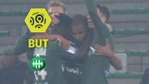 But Kévin MONNET-PAQUET (56ème) / AS Saint-Etienne - RC Strasbourg Alsace - (2-2) - (ASSE-RCSA) / 2017-18