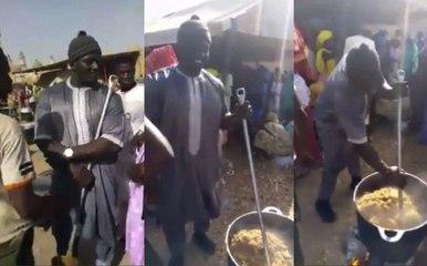 (Vidéo Exclusive) Touba : Funérailles de Serigne Bass Bara, Balla Gaye 2 dans les cuisines !