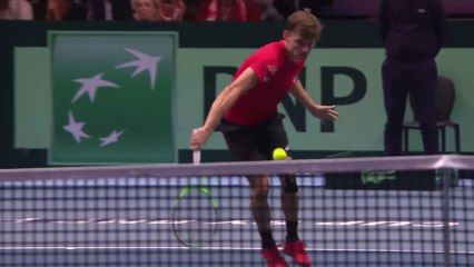 Shot of the Day - David Goffin (BEL)