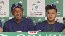 Tennis - Coupe Davis - Finale : Noah et la «culture de la lose»