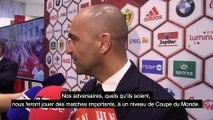 """Roberto Martinez: """"Avoir de la chance avec les endroits où nous devrons jouer"""""""