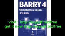 The Construction of Buildings, Volume 4 Multi-storey Buildings, Foundations and Substructures, Structural Steel...