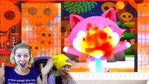 Готовим СУШИ и РОЛЛЫ  веселая готовка челлендж от FFGTV с разными мульт героями мама съела васаби-UlAUG3Xsxr4