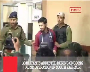 3 Militants Arrested During Ongoing Kund Operation In South Kashmir