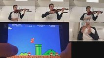 Super Mario tune by just using a violin! - video dailymotion