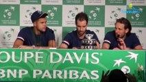 """Coupe Davis 2017 - FRA-BEL - Lucas Pouille : """"Je ne suis pas le héros de la journée, on est tous des héros"""""""