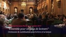 """Lancement de la campagne """"Ensemble pour un pays de lecteurs"""""""