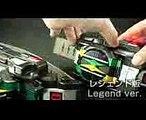 仮面ライダー 電王 ゼロノス 変身ベルト DXベルト レジェンドライダーシリーズ比較 Kamen Rider Den-o DX Zeronos belt & Legend Zeronos belt