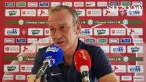 Clermont - Brest : conférence de presse d'avant-match