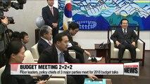 Top officials meet to discuss 2018 budget