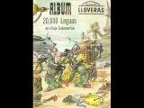 20000 LEGUAS DE VIAJE SUBMARINO - CROMOS LLOVERAS - ALBUM COMPLETO