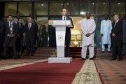 Déclaration à la presse du Président de la République, Emmanuel Macron, et de M. Roch Marc Christian Kaboré, président du Burkina Faso