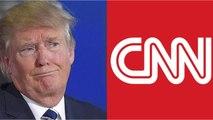 CNN Fights Back Against Trump After He Criticizes CNN International