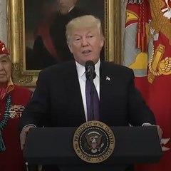 "Trump just called Elizabeth Warren ""Pocahontas"" — again [Mic Archives]"