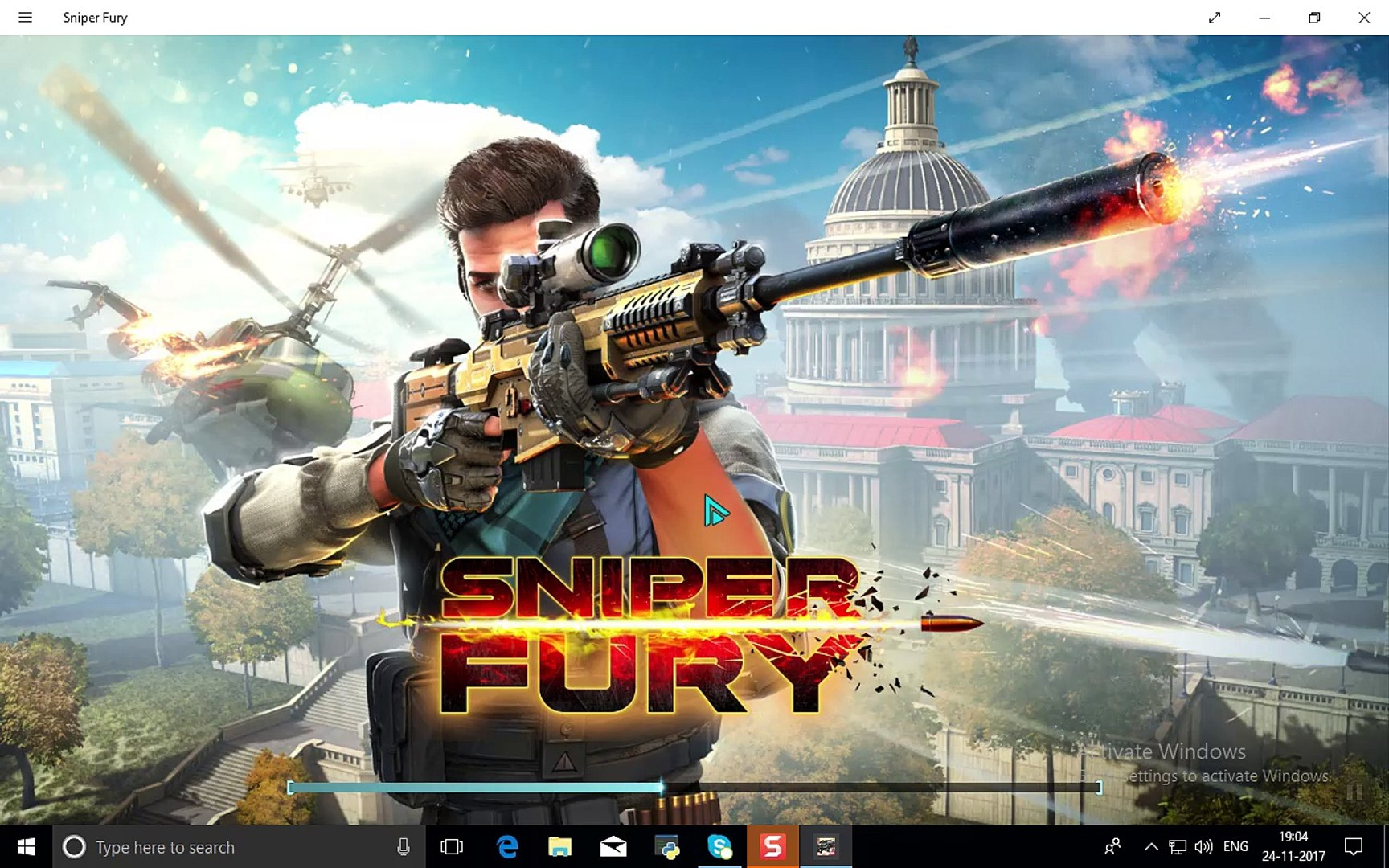 How to Play Sniper Fury Best Shooter Game in Windows 10