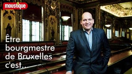 """Philippe Close: """"Etre bourgmestre de Bruxelles, c'est un métier de rugbyman"""""""