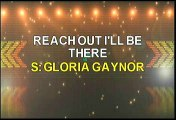 Gloria Gaynor Reach Out I'll Be There Karaoke Version