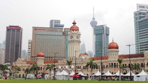 A Living Postcard From the Sultan Abdul Samad Building