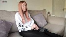 Cette femme souffre d'une maladie rare lui causant une douleur pire que l'accouchement en permanence