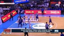 Gilas Pilipinas, tinalo ang Chinese Taipei sa FIBA World Cup Asian Qualifiers