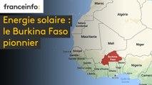 Energie solaire : le Burkina Faso pionnier