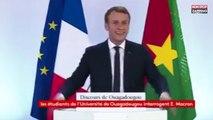 Emmanuel Macron au Burkina Faso : Le président burkinabé quitte la salle lors de son discours (vidéo)