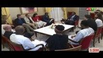 audience: Baba Maal reçu par le PR Macky SALL, le festival Les Blouses du Fleuve Senegal