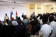 Discours du Président de la République, Emmanuel Macron, à L'université Ouaga I, Professeur Joseph Ki-Zerbo, à Ouagadougou