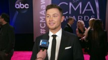 Scotty McCreery Introduces His Fiancee at 2017 CMA Awards