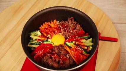 Bibimpap Coréen