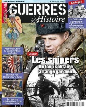 Les snipers. Guerres et histoire n°28.
