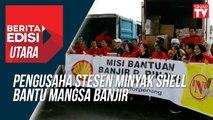 Pengusaha stesen minyak Shell bantu mangsa banjir